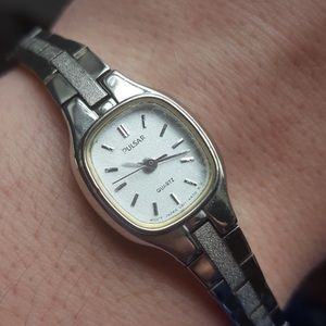 Pulsar Accessories - Ladies' Vintage Stainless Steal Dress Watch